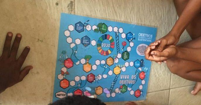 Jogo dos Objetivos de Desenvolvimento Sustentável