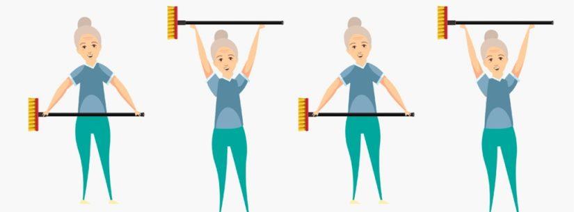 Foto de Faça exercícios em casa – COVID 19