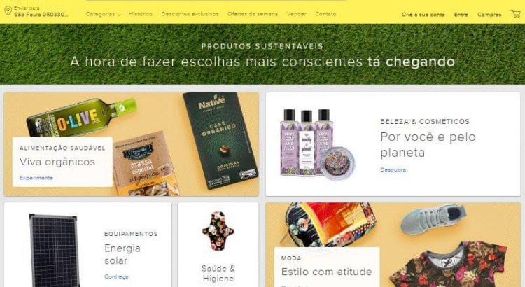 Mercado Livre lança categoria para produtos sustentáveis