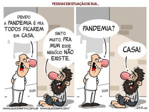 Pandemia – Desigualdade Social
